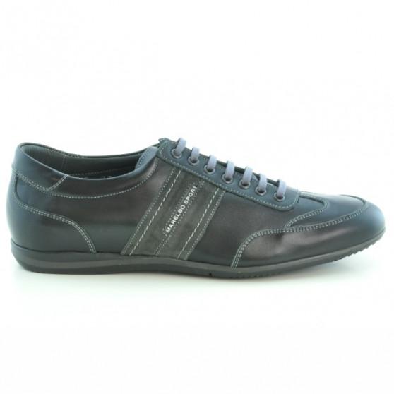 Men sport shoes 770 black+gray