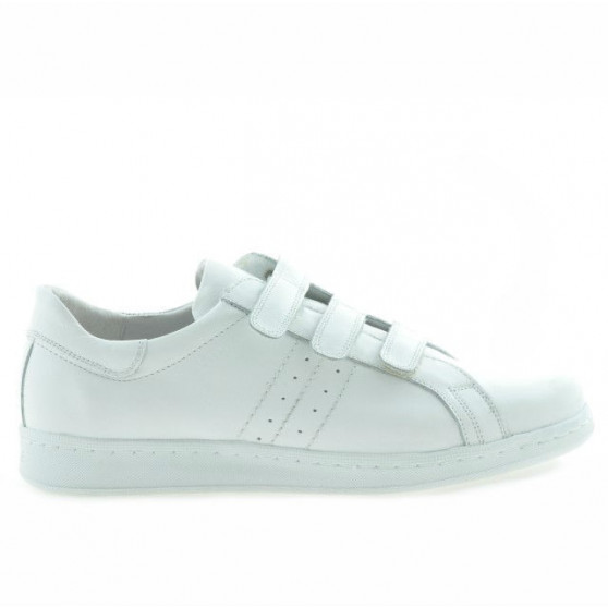Teenagers stylish, elegant shoes 369sc white scai