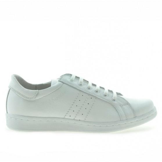 Pantofi sport adolescenti 369 alb