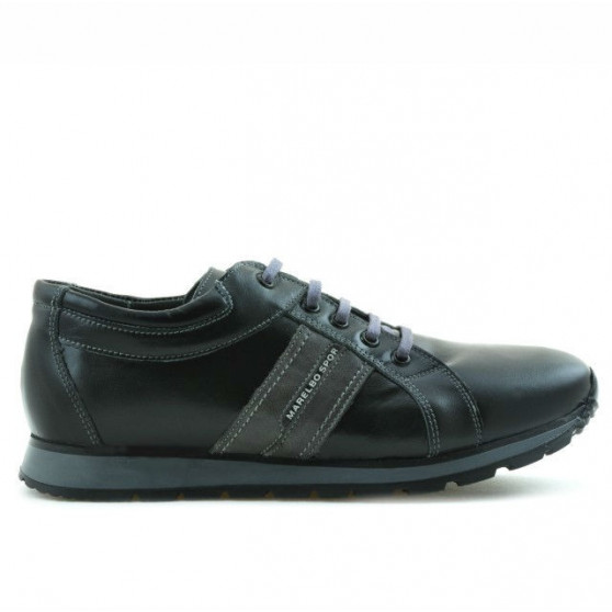 Teenagers stylish, elegant shoes 311 black+gray