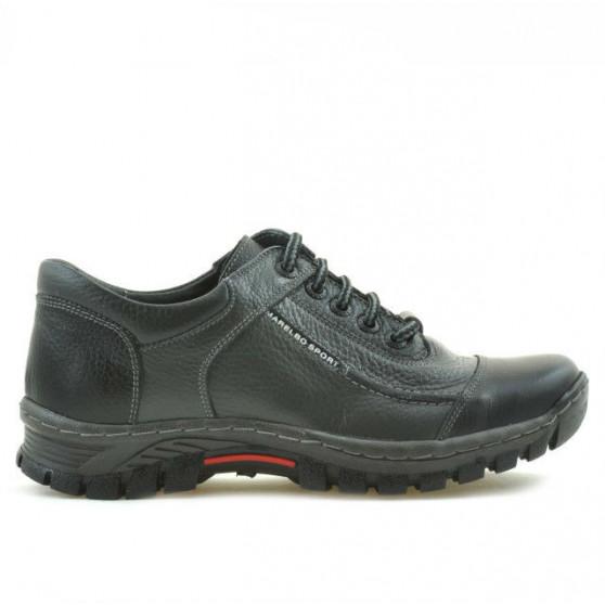 Pantofi sport adolescenti 313 negru+gri