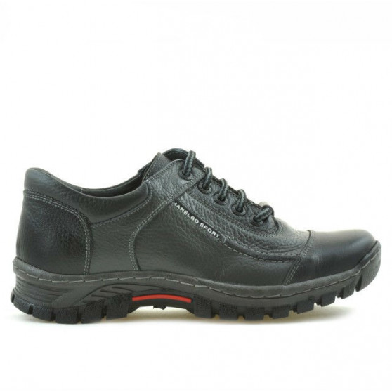 Teenagers stylish, elegant shoes 313 black+gray