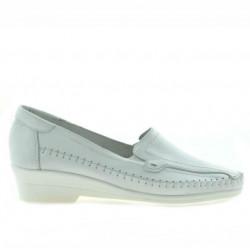 Pantofi casual dama 673 alb
