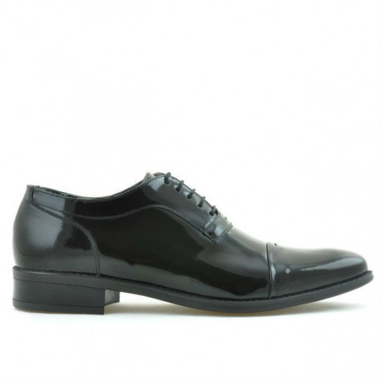 Pantofi eleganti barbati 802 lac negru