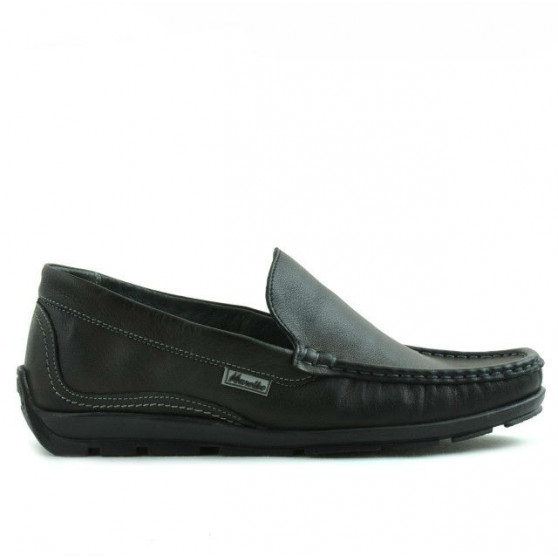 Teenagers moccasins, loafers 395 black