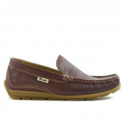 Teenagers moccasins, loafers 395 bordo