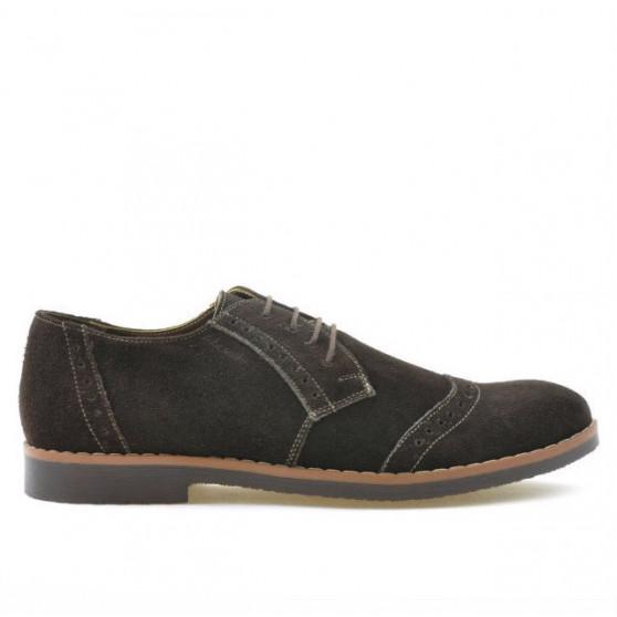 Pantofi casual / eleganti barbati 746 cafe velur