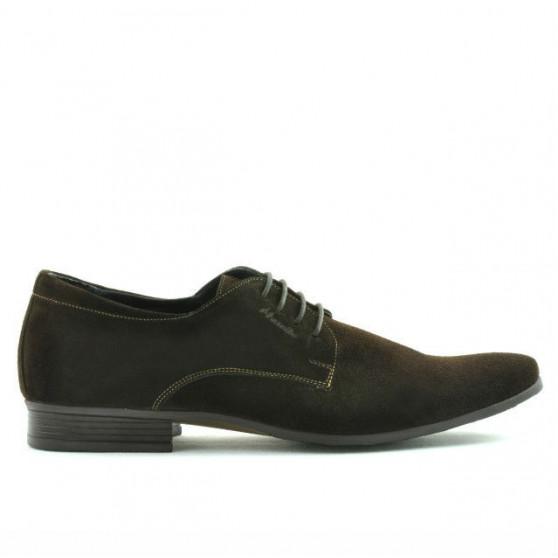Pantofi eleganti barbati 786 cafe velur