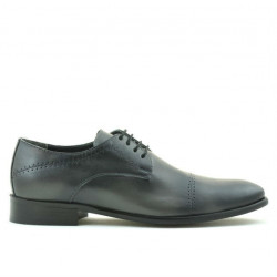 Men stylish, elegant shoes 822 a gray
