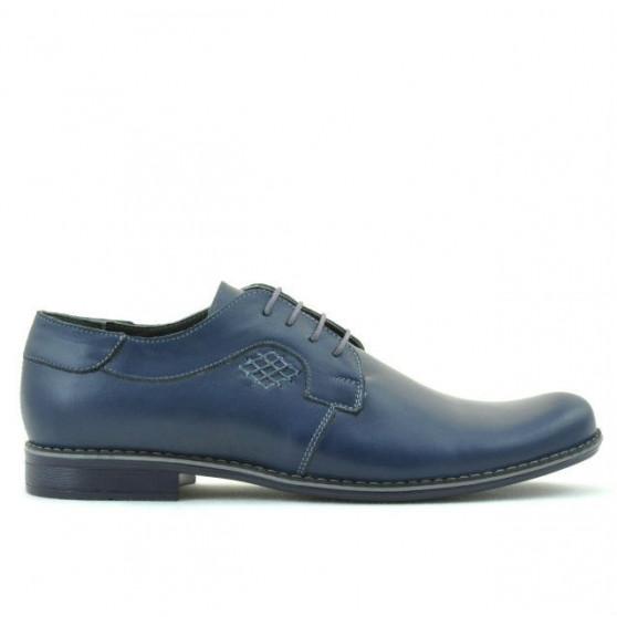 Men stylish, elegant, casual shoes 730 indigo