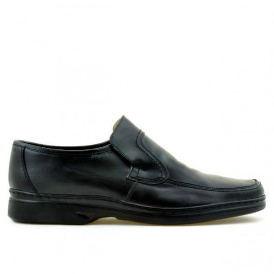 Men stylish, elegant shoes (large size) 969m black