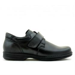 Men stylish, elegant, casual shoes 854sc black scai