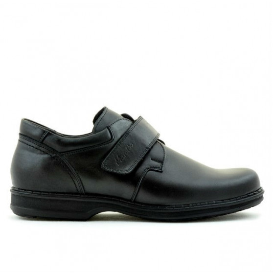 Men stylish, elegant, casual shoes 854sc black scai
