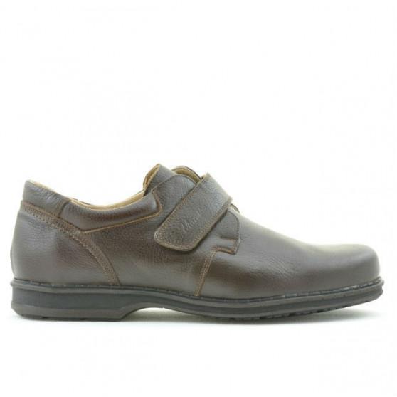 Pantofi casual / eleganti barbati 854sc maro scai