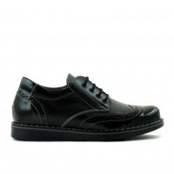 Children shoes 154 patent black combined