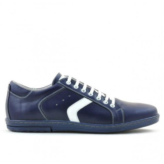 Pantofi sport barbati 809 indigo+alb