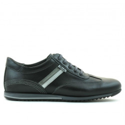 Pantofi sport barbati 807 negru+gri