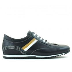Pantofi sport barbati 807 indigo+alb