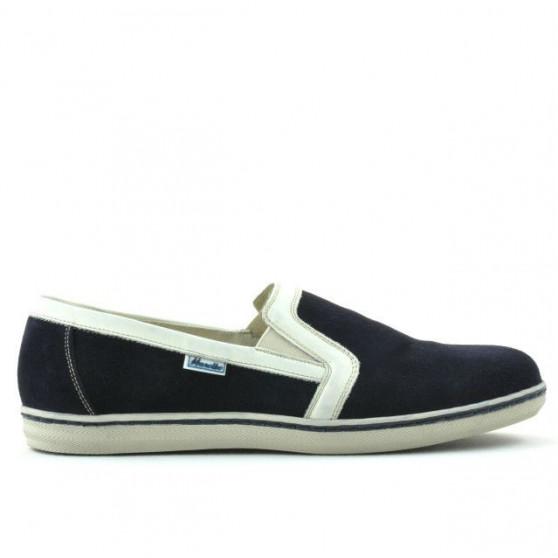 Men casual shoes 870 indigo velour