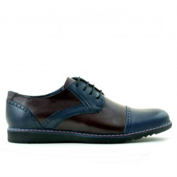 Pantofi casual barbati 811 indigo+bordo