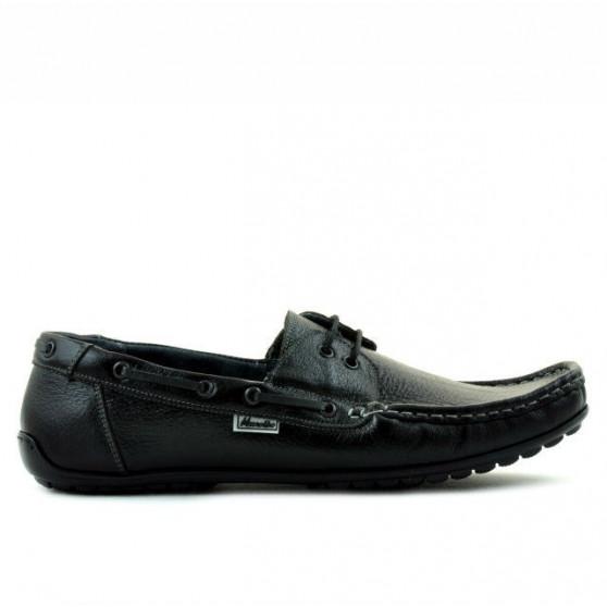 Men loafers, moccasins 778 black