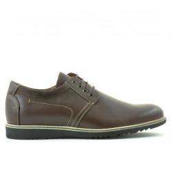 Men casual shoes 812 brown