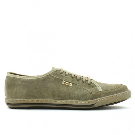 Pantofi casual / sport barbati 775 nisip velur