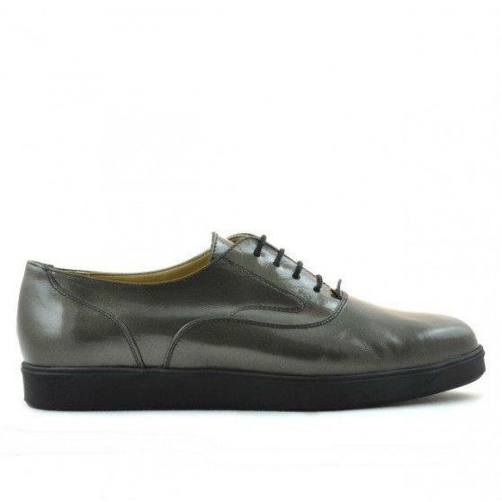 Pantofi casual dama 664 lac aramiu