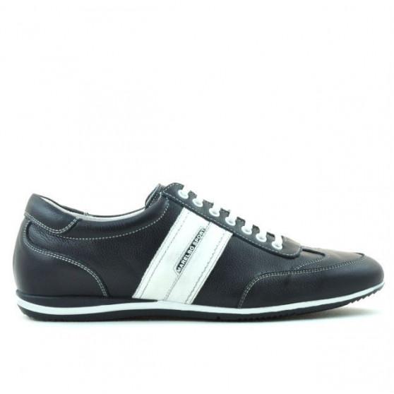 Men sport shoes 770 indigo+white