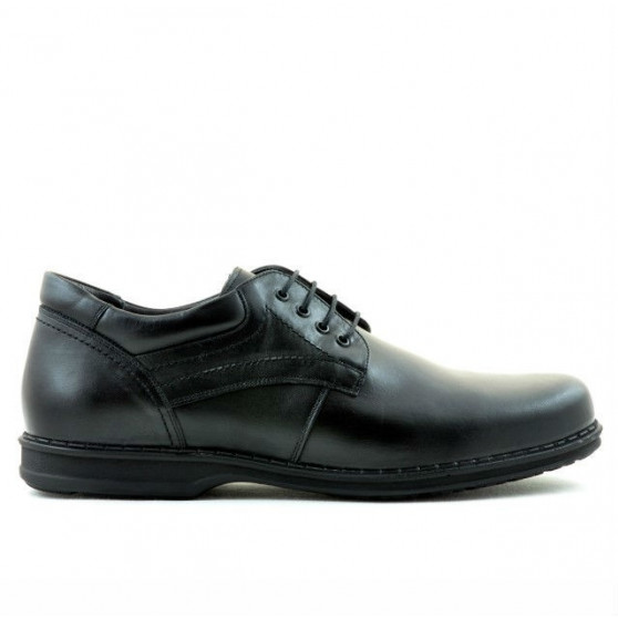 Men stylish, elegant, casual shoes (large size) 854m black