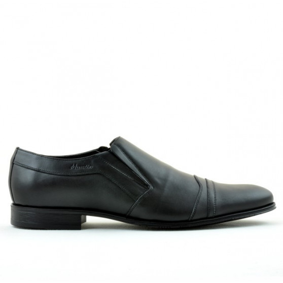 Men stylish, elegant shoes (large size) 796m black