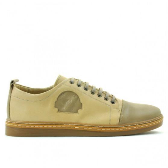 Pantofi casual / sport barbati 766 nisip combinat