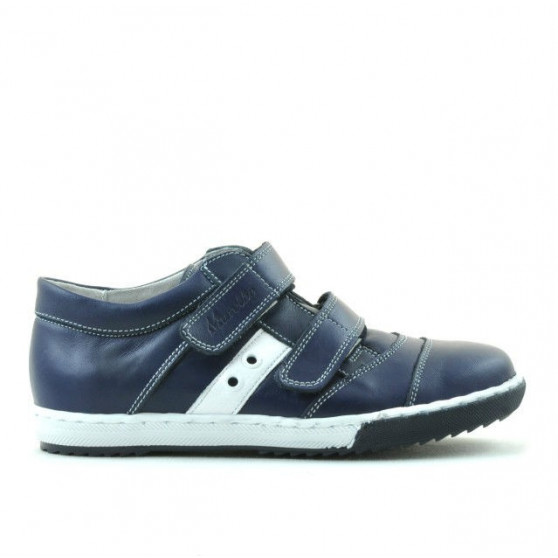 Children shoes 134 indigo+white