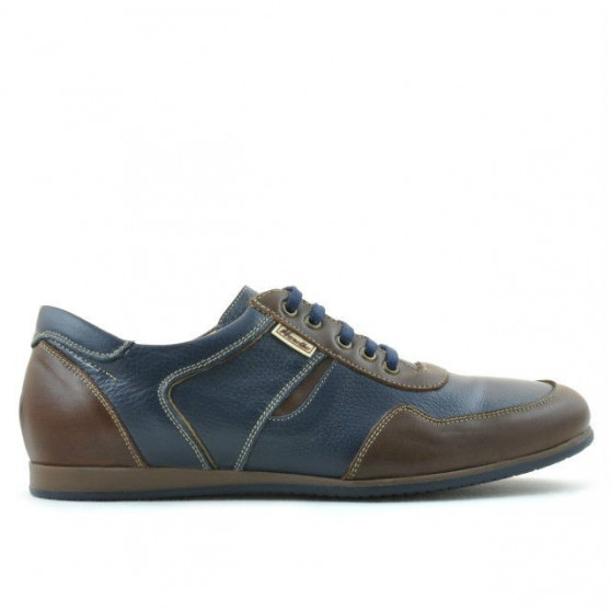 Men sport shoes 860 brown+indigo