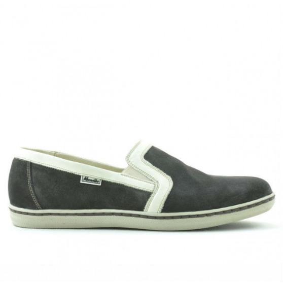 Men casual shoes 870 tdm velour (Testa di Moro)