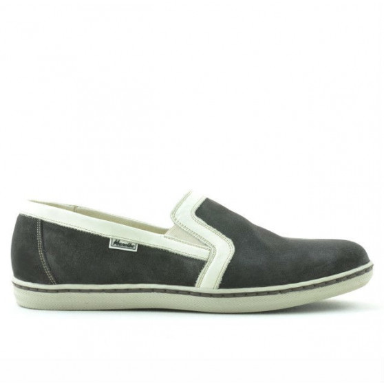 Pantofi casual barbati 870 tdm velur (Testa di Moro)