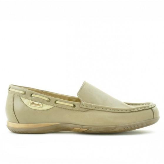 Men loafers, moccasins 719 sand