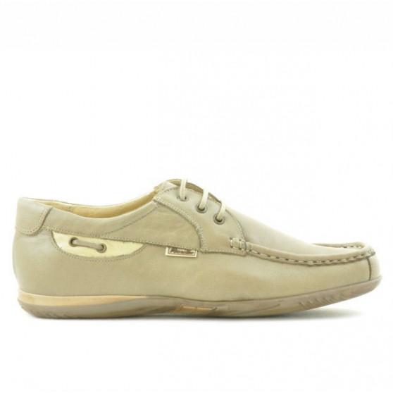 Men loafers, moccasins 718 sand