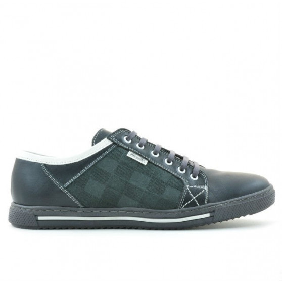 Men sport shoes 851 gray+white