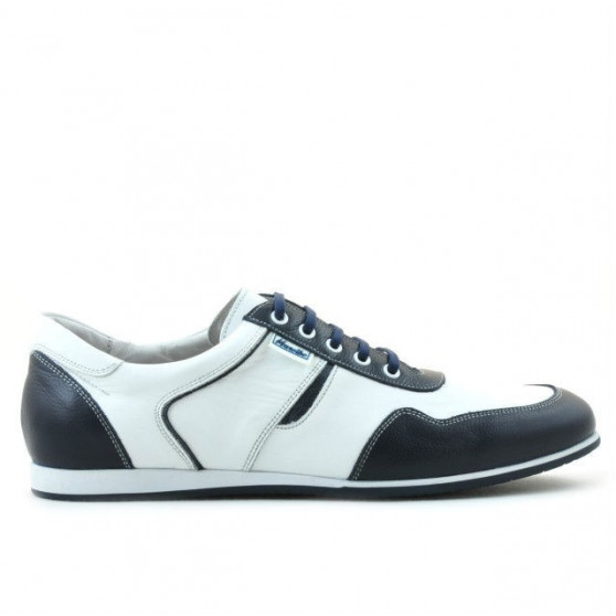 Men sport shoes 860 white+indigo