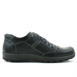 Men sport shoes 853 black