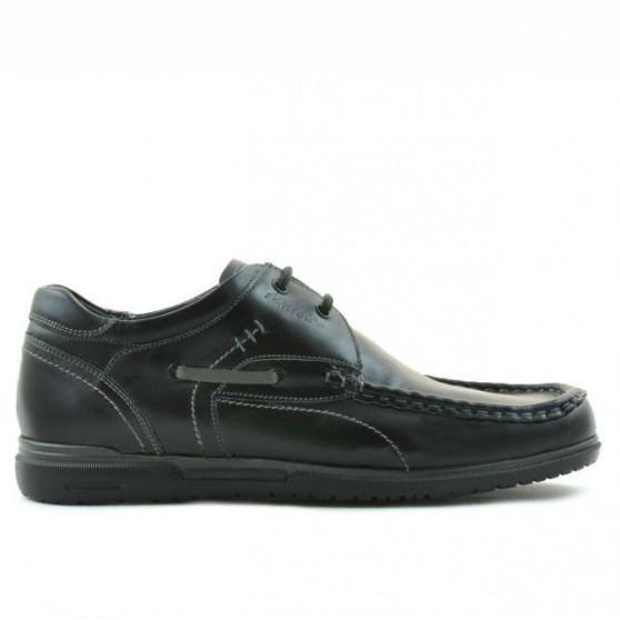 Men loafers, moccasins 735 black