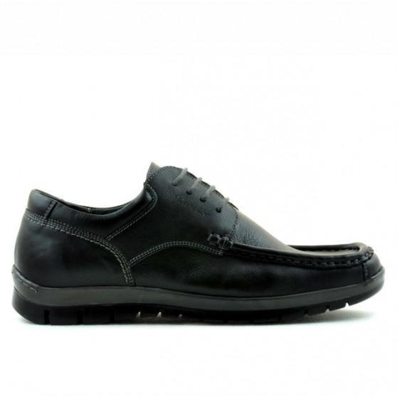 Men loafers, moccasins 850 black