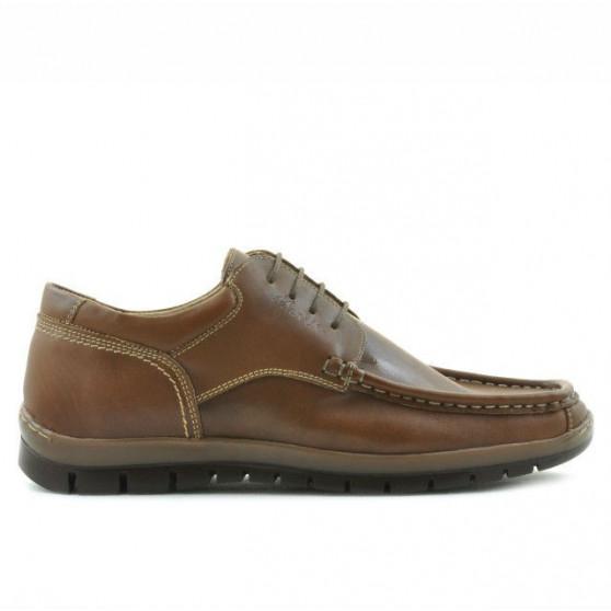 Men loafers, moccasins 850 brown