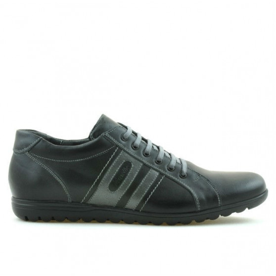 Men sport shoes 747 black+gray