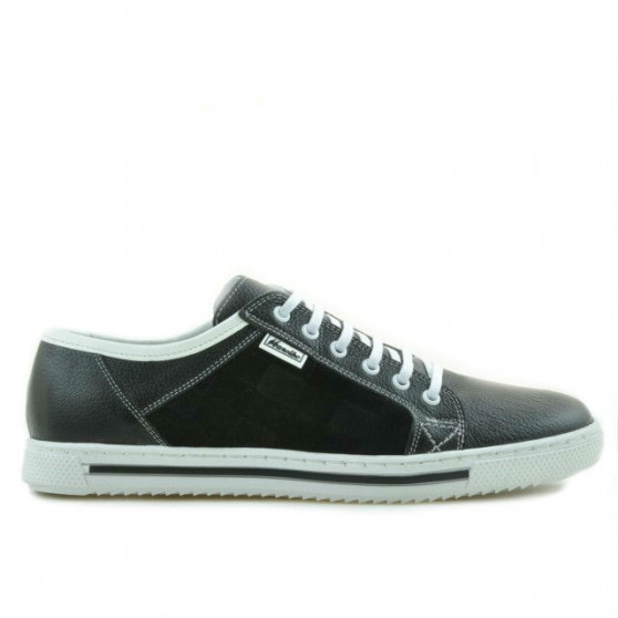Men sport shoes 851 black+white