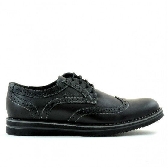 Men casual shoes 866 black