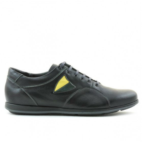 Men sport shoes 767 black+gray
