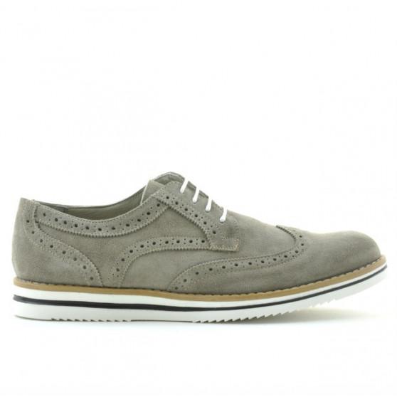 Men casual shoes 866 sand velour