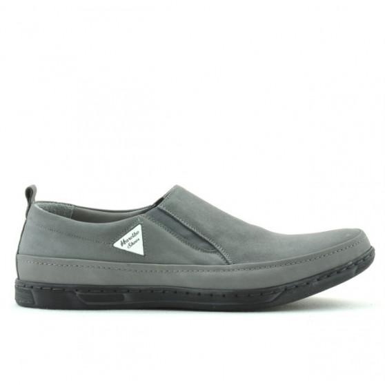 Men casual shoes 745 bufo gray